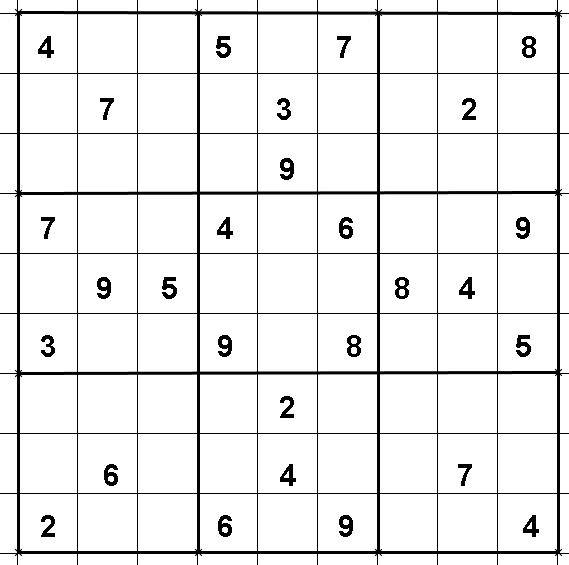 sudoku diabolique gratuit