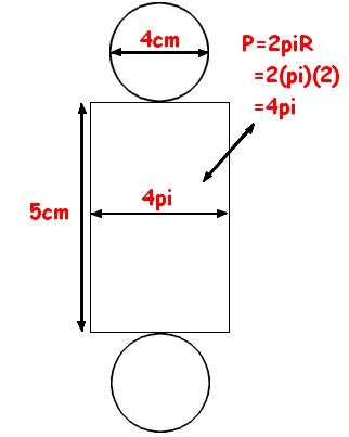 comment construire le patron d'un demi cylindre