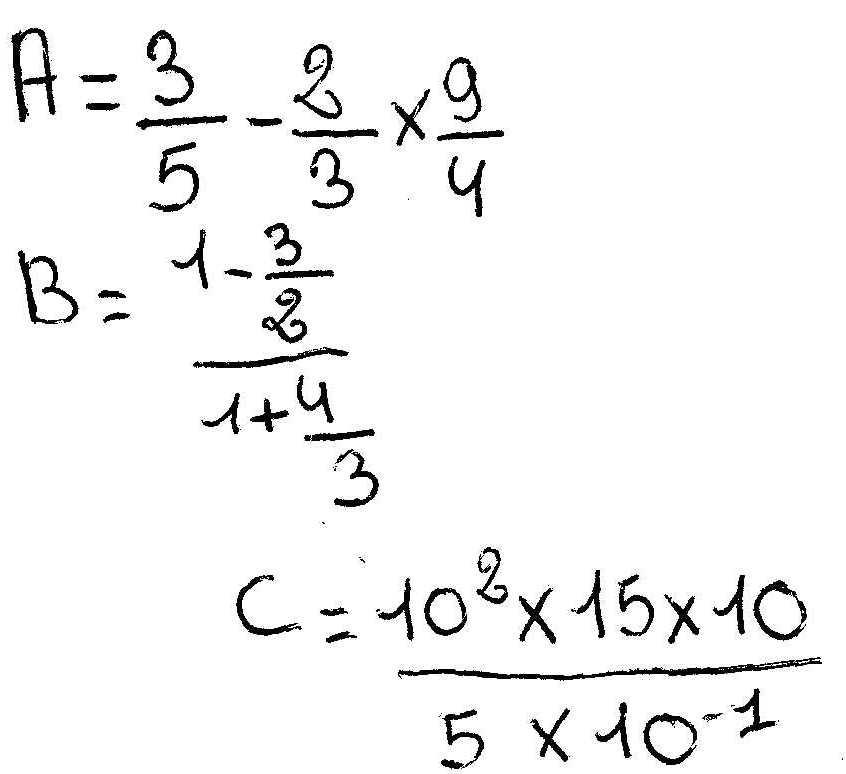 calculer et donner le r sultat sous forme simplifier exercice de calcul num rique 165334. Black Bedroom Furniture Sets. Home Design Ideas