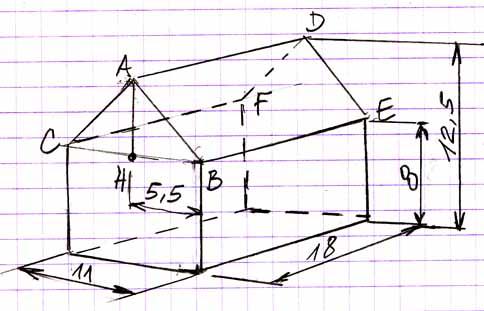 L Aire D Un Parralelepipede Exercice De Triangle Rectangle