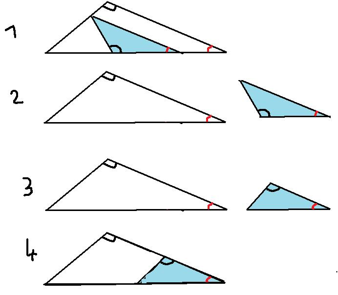 triangles semblables exercices corriges 3eme