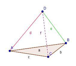 patron d une pyramide a base triangulaire