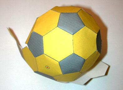 Enigmo 122 pour amateurs de foot forum de maths 289681 - Fabriquer une boule a facette ...