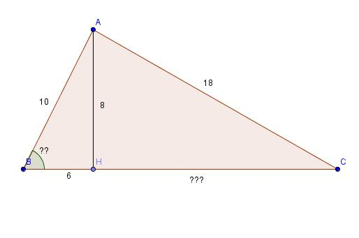 cosinus dans un triangle quelconque forum math matiques 301437. Black Bedroom Furniture Sets. Home Design Ideas