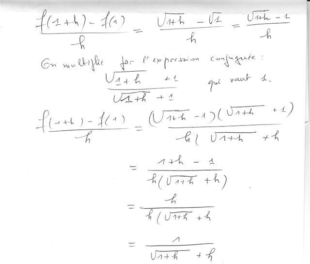 Exercice Fonction Derive Forum Mathematiques Premiere Derivation 332355 332355