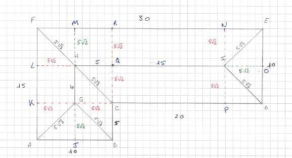 Calcule surface toiture forum math matiques 348142 - Calculer la pente d un toit ...