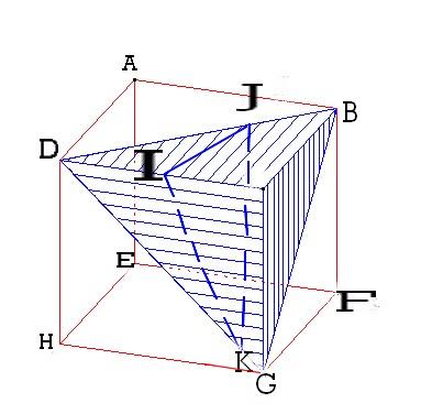 Calculer le volume d 39 une pyramide r duite exercice de for Calculer le volume d une maison