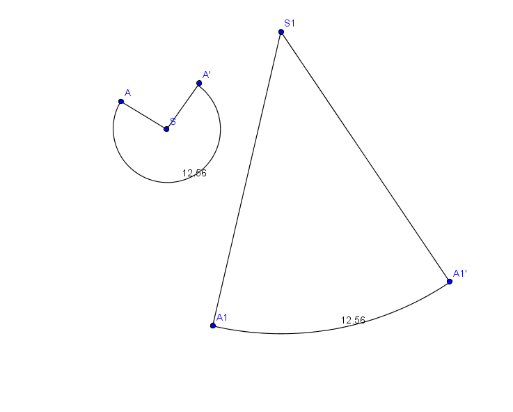 comment calculer la generatrice d un cone