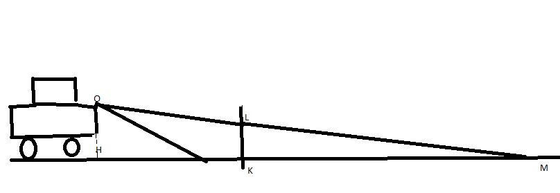 dm de maths 3 me les feux de croisement d 39 un v hicule exercice de thal s 381634. Black Bedroom Furniture Sets. Home Design Ideas