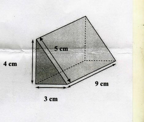 Comment calculer l 39 aire d 39 un prisme droit base for Calculer le volume d une maison