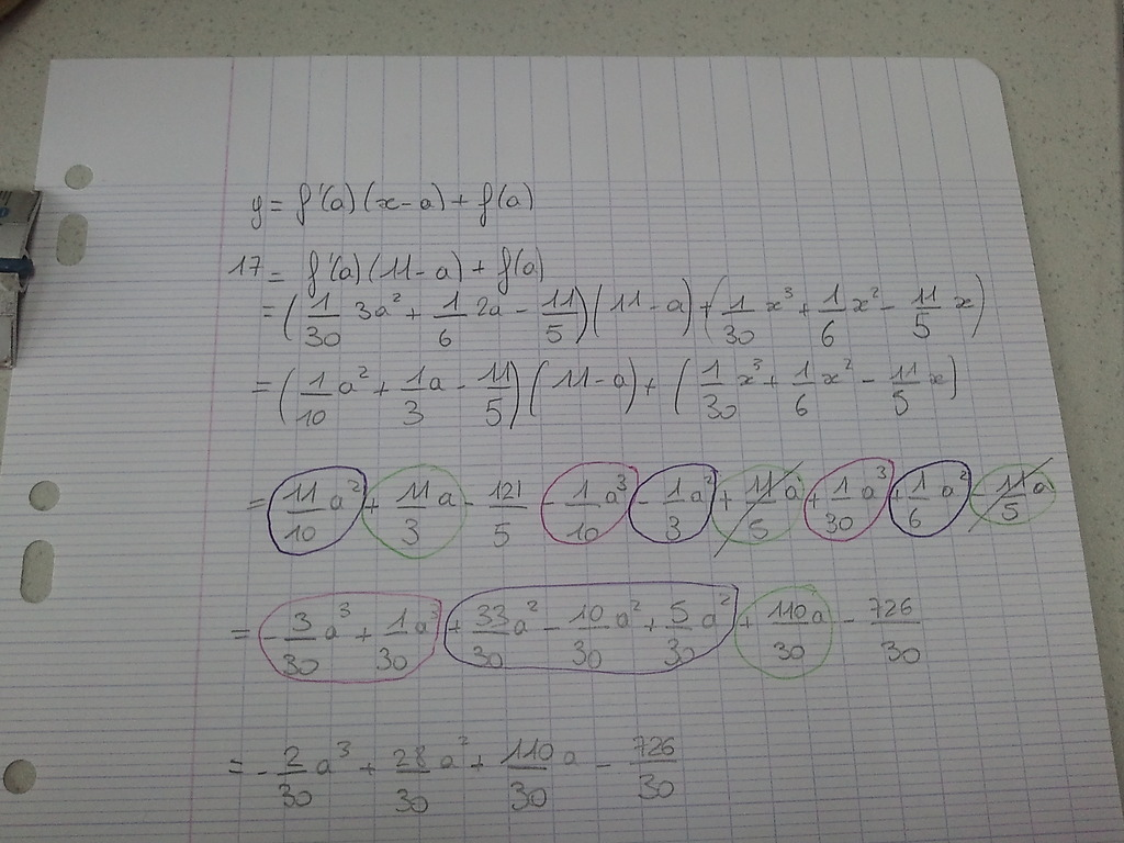 Exercice Derivation Forum Mathematiques 439182