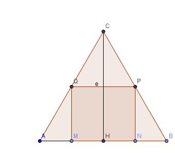 aire max d 39 un rectangle dans un triangle quilat ral de c t 1 forum math matiques premi re. Black Bedroom Furniture Sets. Home Design Ideas