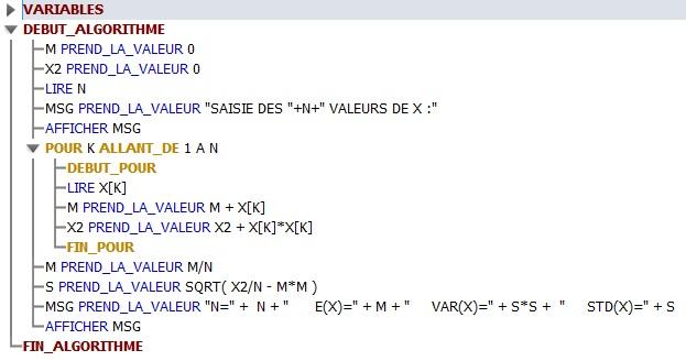 La liste des courses pour l'Atelier de la Rigueur (3\/4 ...