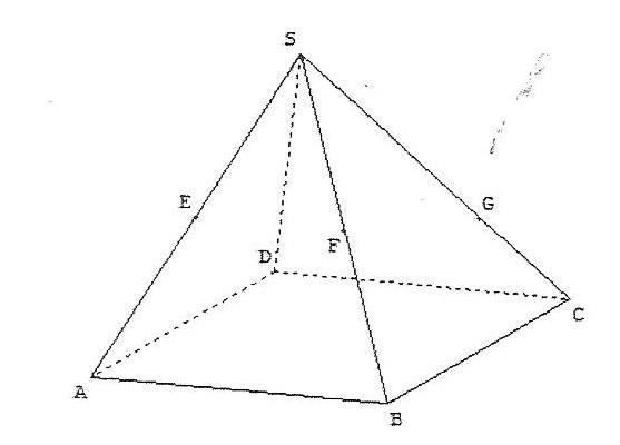 Section pyramide exercice de g ometrie dans l 39 espace - Dessin de pyramide ...