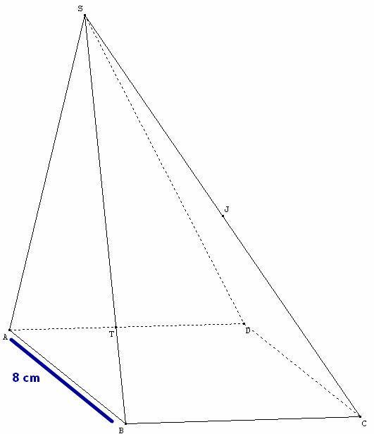 Recherche sur une pyramide forum de maths 524406 - Dessin de pyramide ...