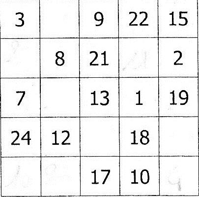 Carr magique exercice de math matiques de sixi me 534733 - Carre magique a imprimer ...