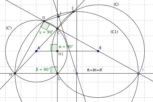 Cercles orthogonaux — Wikipédia
