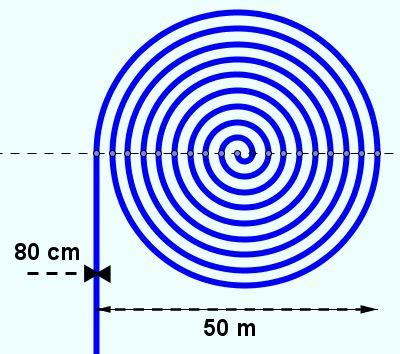 Calcul d une longueur de spirales forum math matiques for Calcul eclairage exterieur
