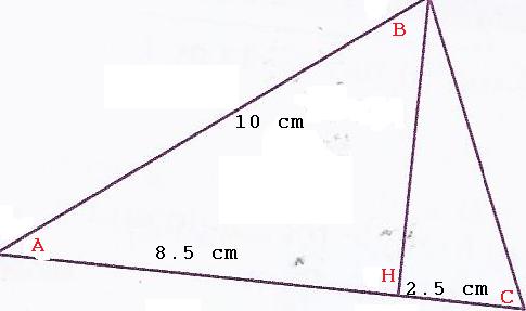 Exercice Theoreme De Pythagore Forum De Maths 625631