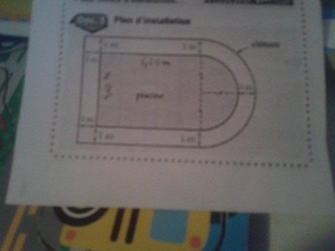 Securiser une cloture exercice de aire et p rim tre 636569 - Calculer le cubage d une piscine ...