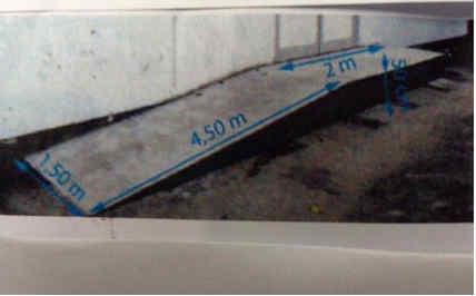 Dm la rampe d 39 acc s exercice de math matiques de - Calcul quantite beton ...