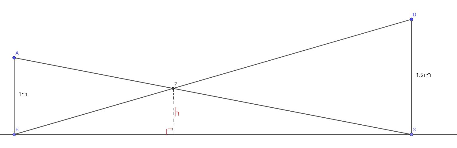 Exercice Niveau 3ème Thalès : exercice de mathématiques de ...