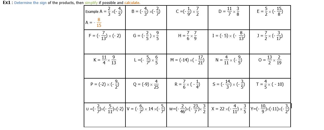 Fraction 4eme Exercice De Mathematiques De Quatrieme 833473